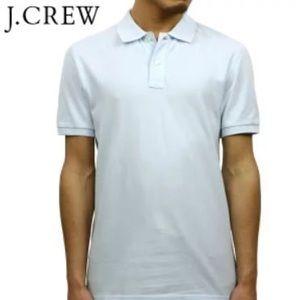 J Crew Slim Washed Piqué Polo Shirt